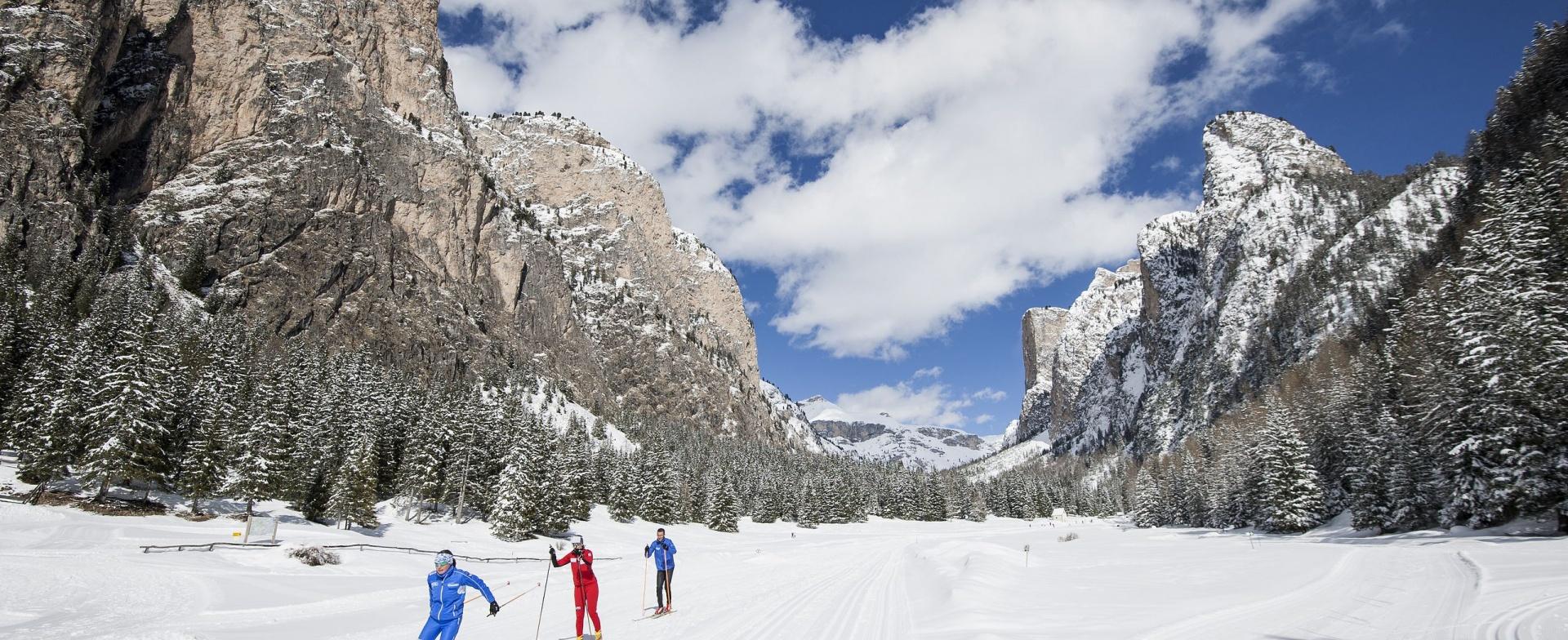 Winter activities in Val Gardena