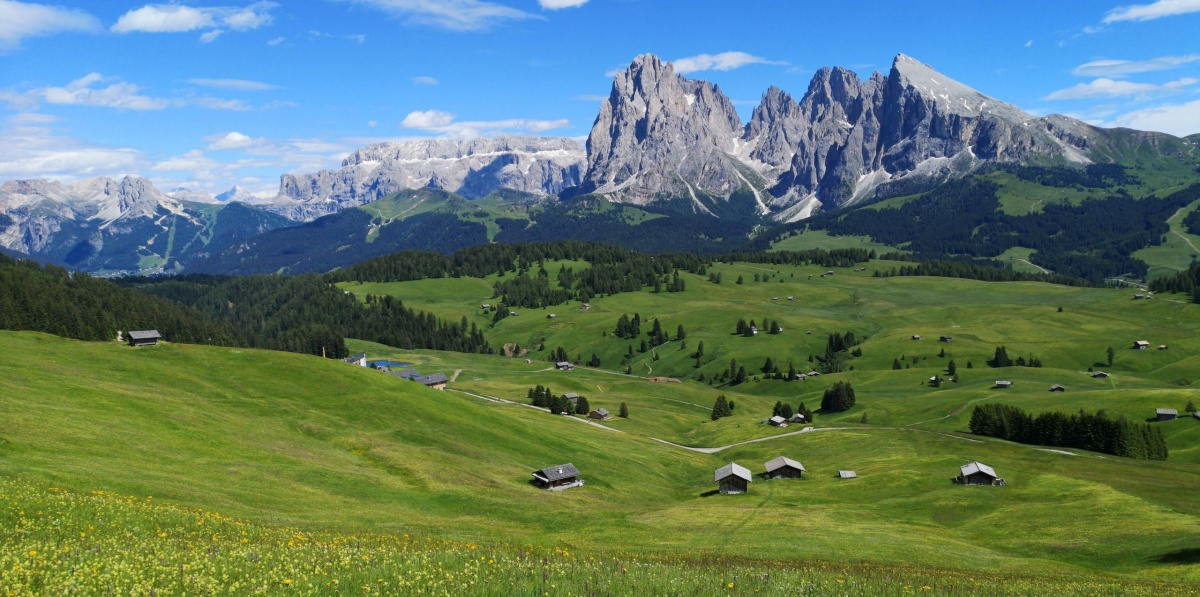 Summer activities in Val Gardena, Dolomites